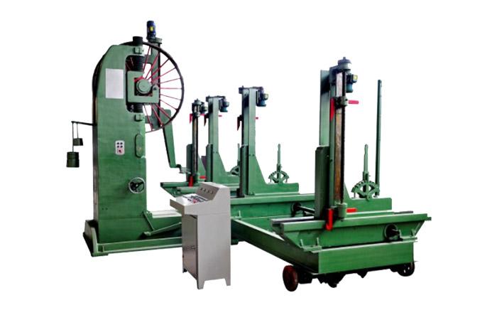 La sierra de cinta para madera MJ3215B (60 pulgadas) coincide con el carro automático MJ329 / 4D (60 pulgadas)