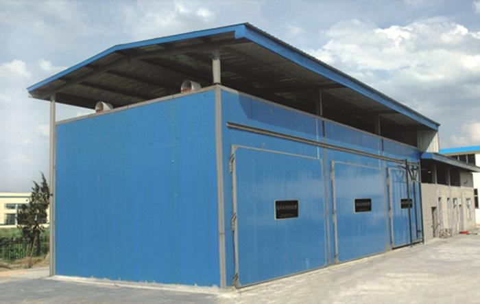 MYHG-SR embalaje de madera y equipos de control automático de tratamiento térmico de madera