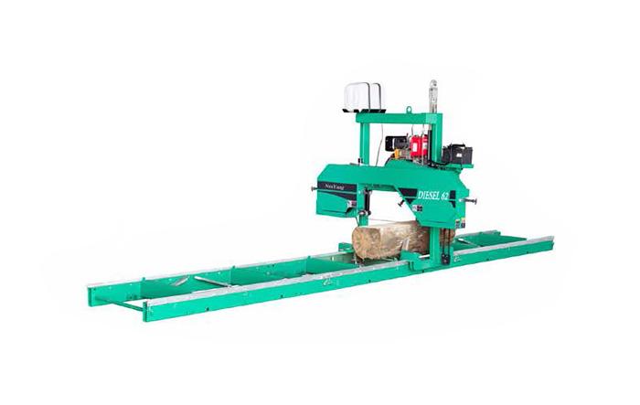 Sierra de cinta horizontal MJ375 / C (Diesel)