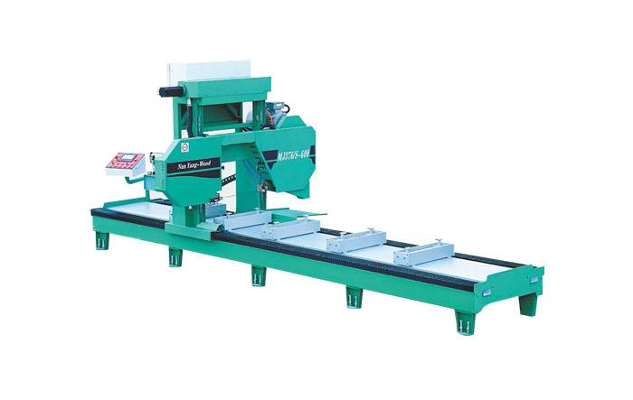 Sierra de cinta horizontal precisa CNC MJ376 / S Series