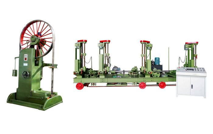 La sierra de cinta para madera MJ3212B (50 pulgadas) coincide con el carro automático MJ329 / 3DE-F (60 pulgadas)